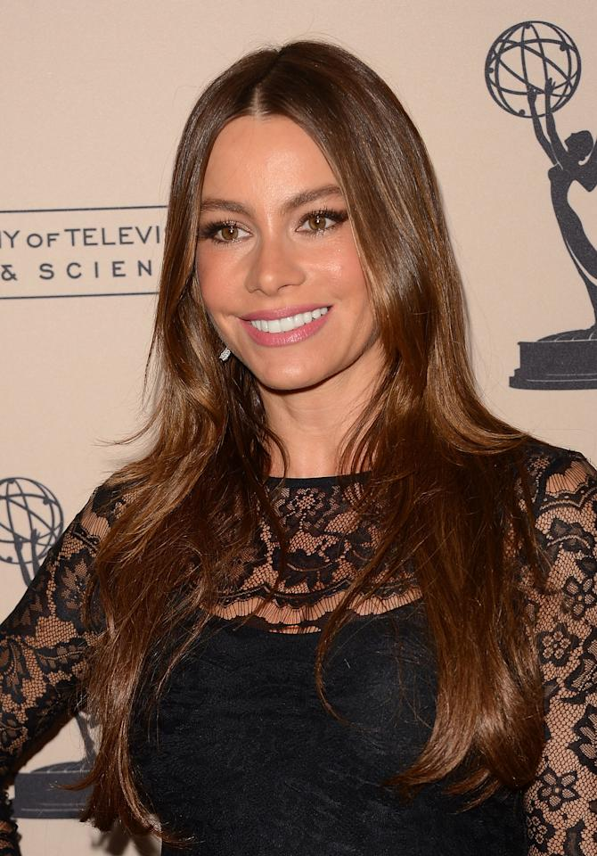 "<b>1. Sofia Vergara </b>- The Colombian star of ""Modern Family"" was nominated for Outstanding Supporting Actress in a Comedy Series for the third consecutive year."