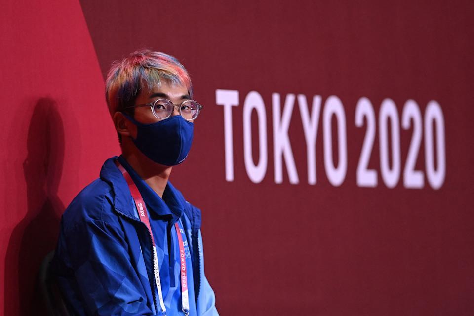 COVID-19 cases are on the rise in Tokyo, but experts aren't blaming the Olympics. (Photo by DANIEL LEAL-OLIVAS/AFP via Getty Images)