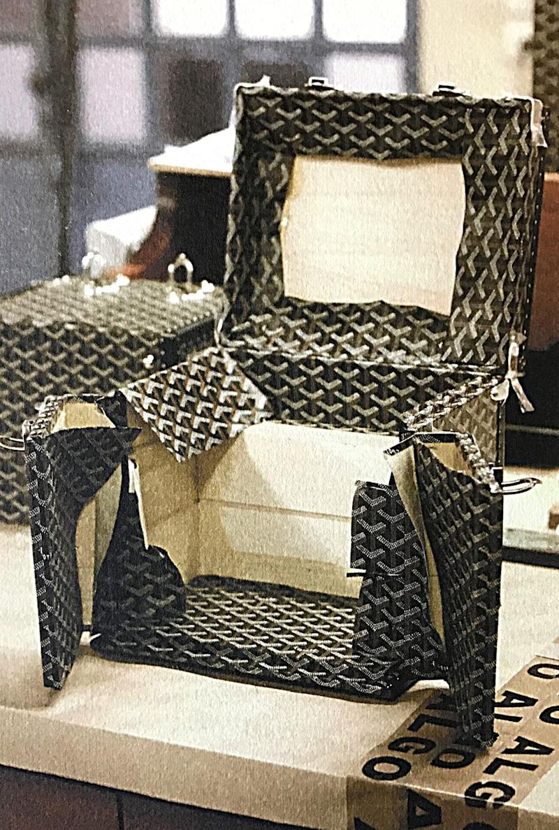 Photo credit: Courtesy Goyard