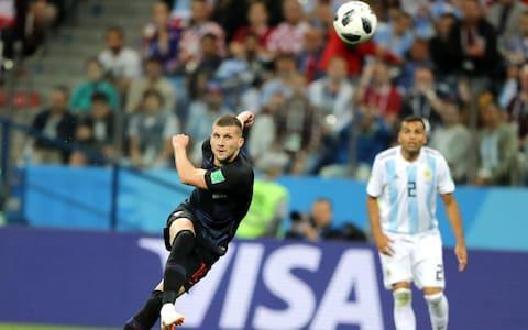 Ante Rebic of Croatia scores a belter - Credit: ELSA/Getty Images