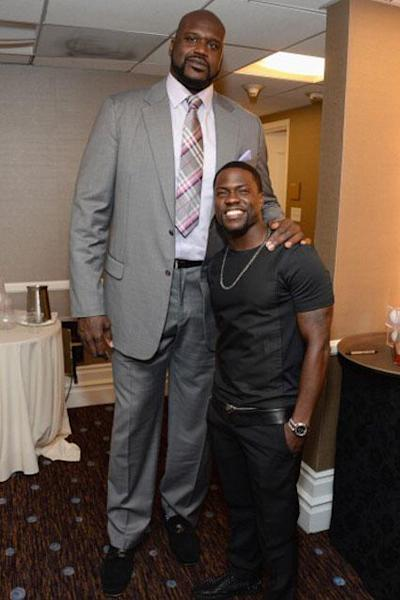 "Luckily, the 7' 1"" foot tall retired NBA star was a fan of the bit, taking to Twitter to laugh off the impression."