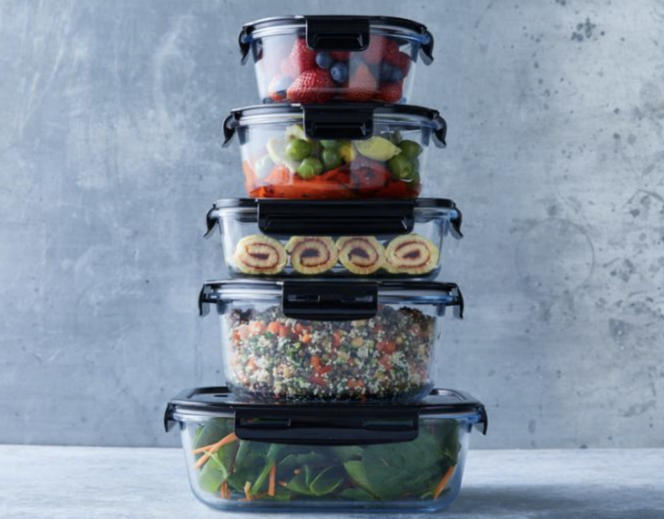 Glass containers from Woolworths promotion have run out.