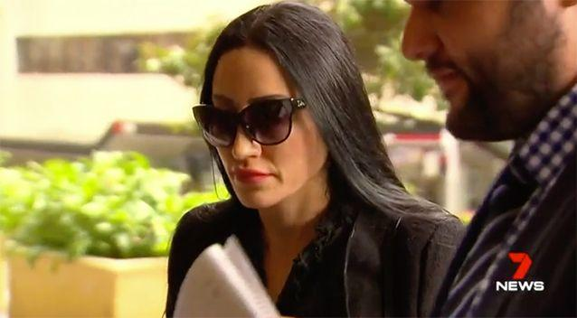 Her lawyer said she wasn't well. Source: 7 News
