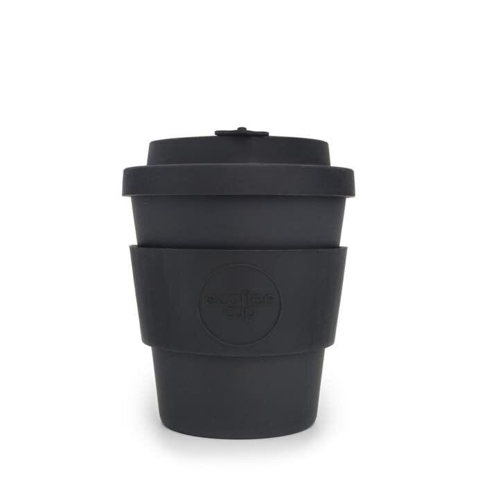 """<a href=""""https://fave.co/33GUZkQ"""" target=""""_blank"""" rel=""""noopener noreferrer"""">8oz Black Bamboo Reusable Coffee Cup, Trouva</a>, &pound;9 (Photo: Trouva)"""