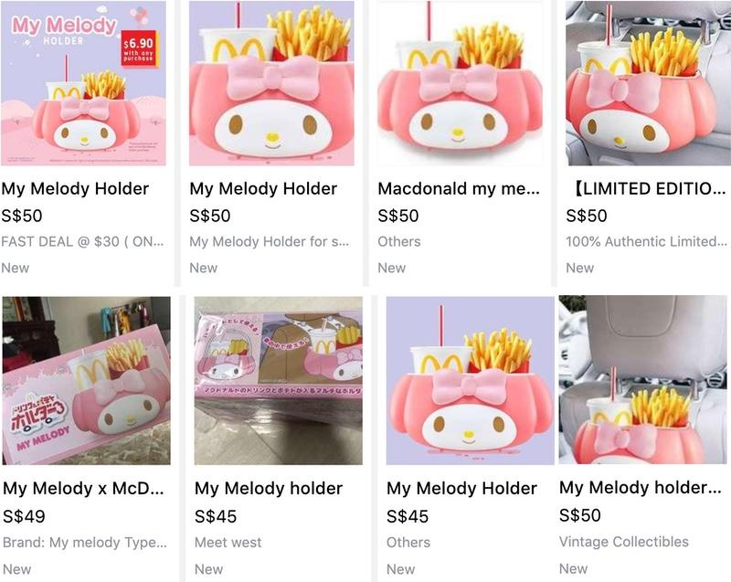 Carousell screengrabs