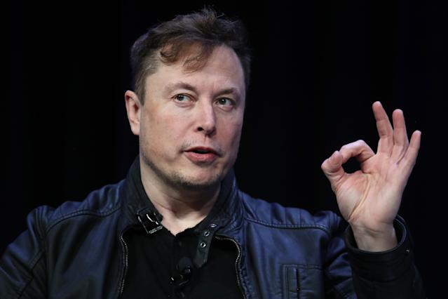 Elon Musk is set to get rewarded for Tesla reaching a key milestone. (Win McNamee/Getty Images)