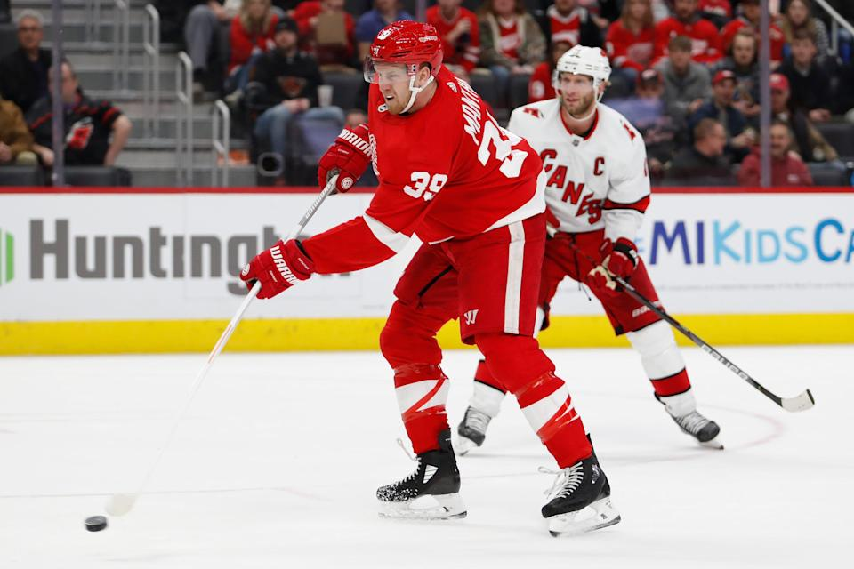 The 2021 NHL season is scheduled to begin Jan. 13. The Wings have not played since losing at home to the Carolina Hurricanes on March 10, 2020.