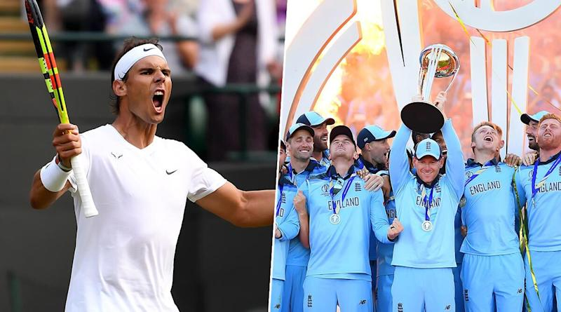 #OneDayInJuly: ICC Celebrates Cricket World Cup 2019 Final and Men's Wimbledon 2019 Final In This Video