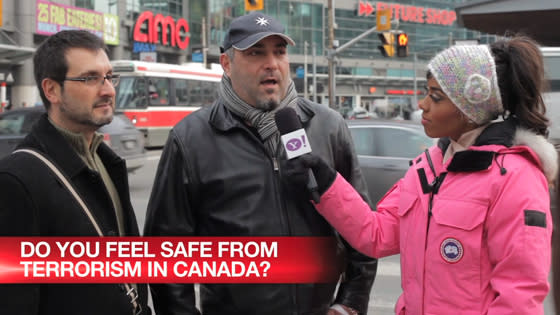 Do you feel safe from terrorism in Canada?