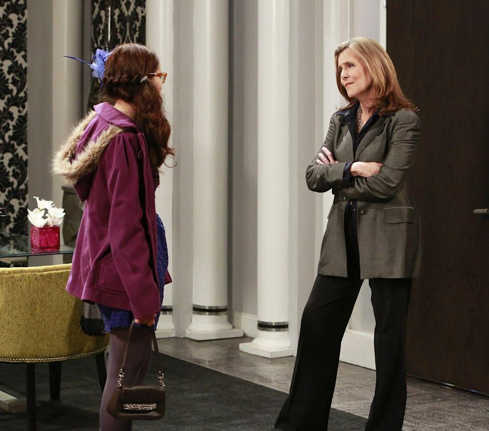 <p>The host of <em>The View</em> has been on <em>General Hospital</em> two times: Once in 2003, and then again in 2012. She played Bree Flanders, the madam of an upscale prostitution ring. She reprised that role in 2012, but in that episode, she was the senior vice president of marketing at a cosmetics company. Interesting departure. <br></p>