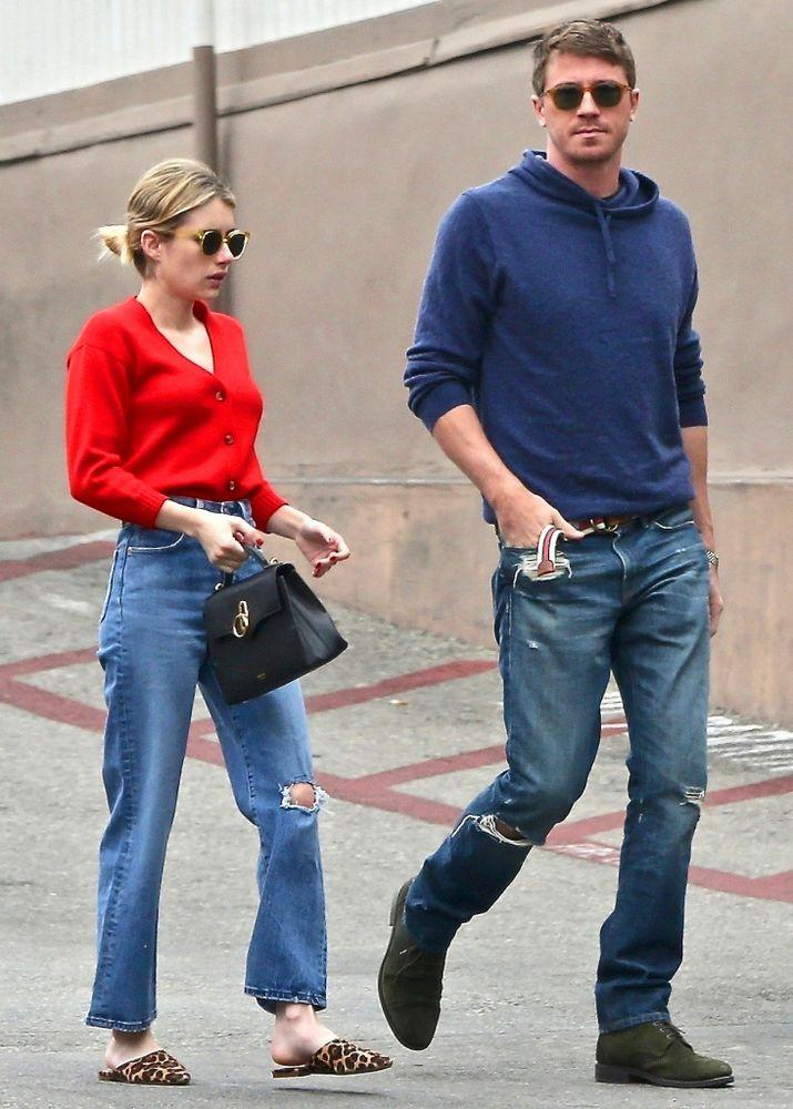 Going Strong Emma Roberts And Garrett Hedlund Step Out For Casual Walk In Los Angeles