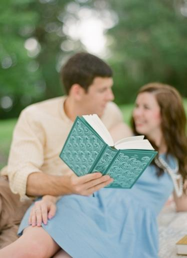 "<div class=""caption-credit""> Photo by: pure7studios</div>Get cozy during your engagement session with your favorite book. <br> <a href=""http://lover.ly/explore?q=engagement&utm_source=shine09-29-2013library&utm_medium=guest&utm_campaign=shine09-29-2013library"" rel=""nofollow noopener"" target=""_blank"" data-ylk=""slk:Ideas for fun and flirty engagement photos"" class=""link rapid-noclick-resp"">Ideas for fun and flirty engagement photos</a> <br> Photo by: <a href=""http://r.lover.ly/redir.php/B6fv4TJO8As_aHR0cDovL3B1cmU3c3R1ZGlvcy5jb20="" rel=""nofollow noopener"" target=""_blank"" data-ylk=""slk:pure7studios"" class=""link rapid-noclick-resp"">pure7studios</a> on <a href=""http://r.lover.ly/redir.php/cVu3Tgtarpk_aHR0cDovL3RoZWV2ZXJ5bGFzdGRldGFpbC5jb20vMjAxMi8xMi8yOS9hLWJlYWNoLWJvb2tzLWVuZ2FnZW1lbnQtc2Vzc2lvbi8="" rel=""nofollow noopener"" target=""_blank"" data-ylk=""slk:Every Last Detail"" class=""link rapid-noclick-resp"">Every Last Detail</a> via <a href=""http://lover.ly/image/355975"" rel=""nofollow noopener"" target=""_blank"" data-ylk=""slk:Lover.ly"" class=""link rapid-noclick-resp"">Lover.ly</a>"