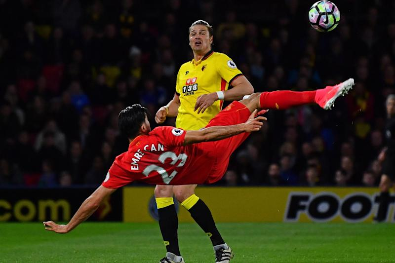Can's acrobatic strike secured victory for Liverpool: Getty Images