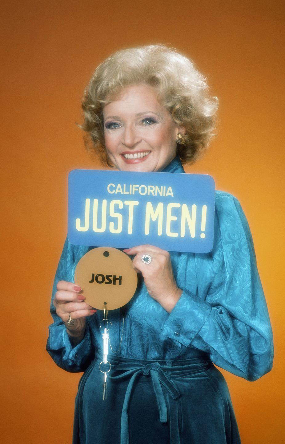 <p>This short lived game show aired in 1983, and Betty White hosted this show where women had to predict answers from male celebrity contestants. </p>