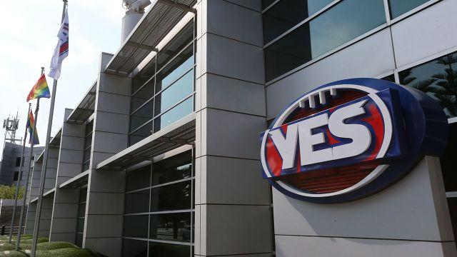 The AFL's 'YES' logo. Image: Getty