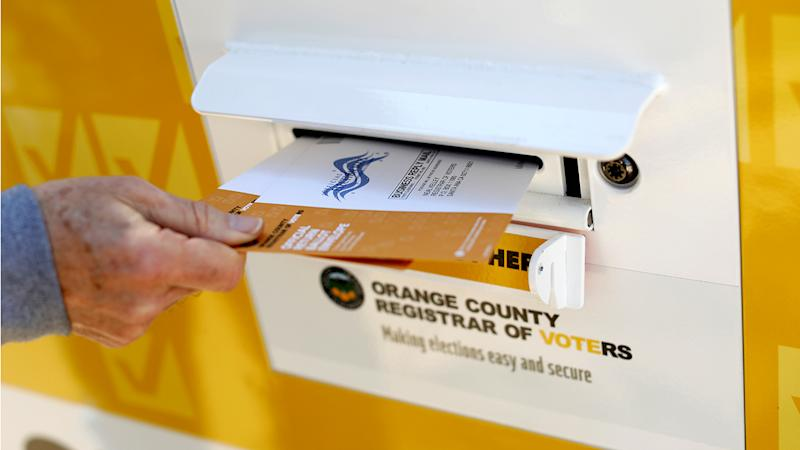 Ballots for the March 3 Super Tuesday primary