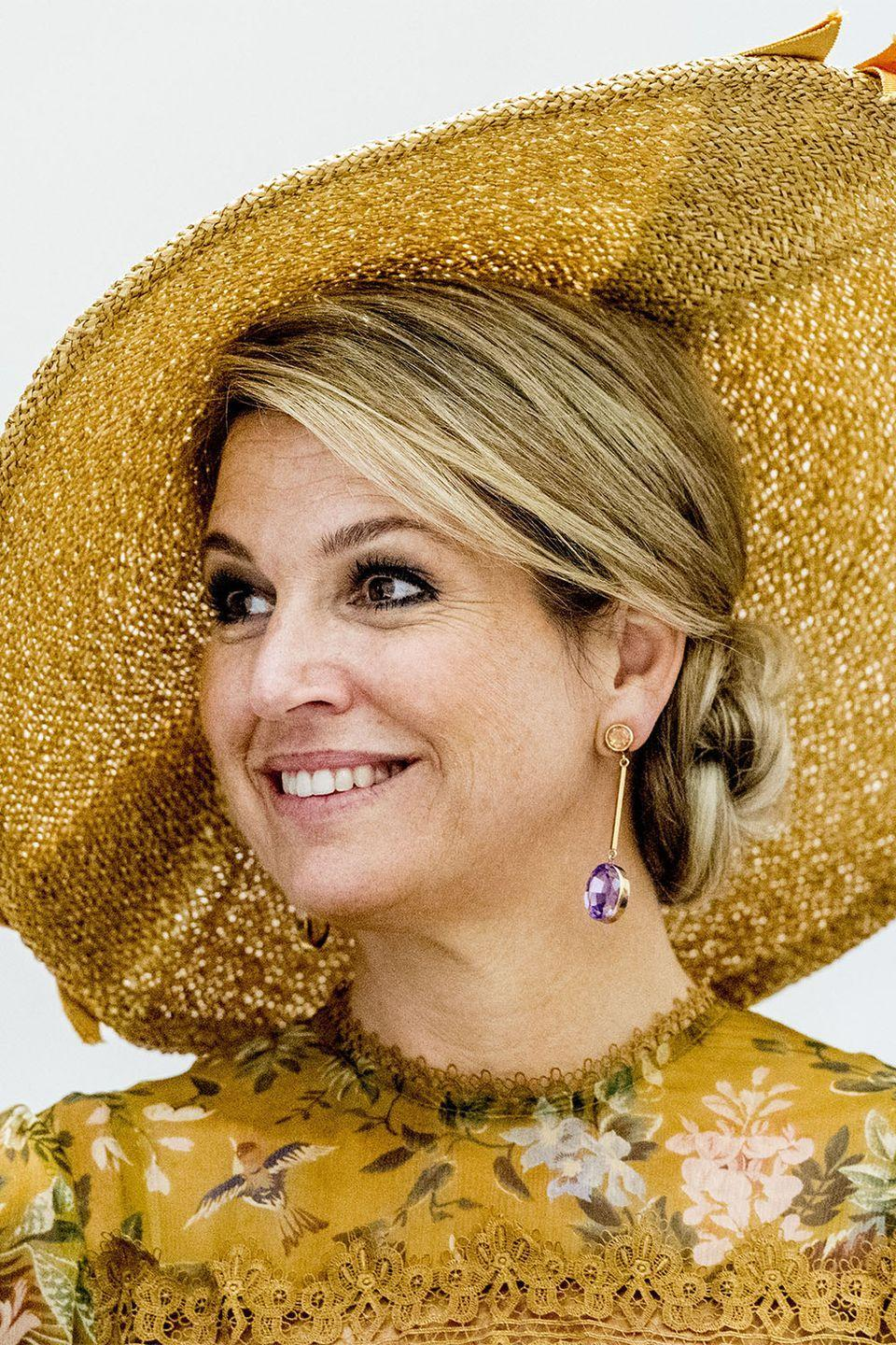 <p>Queen Maxima of the Netherlands in 2017.</p>
