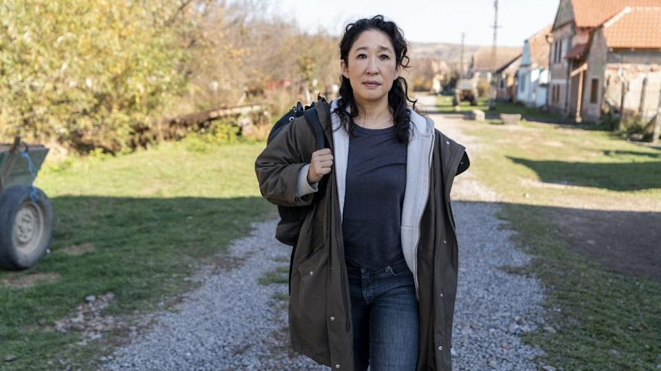 Sandra Oh as Eve Polastri - Killing Eve _ Season 3 - Photo Credit: Des Willie/BBCAmerica/Sid Gentle