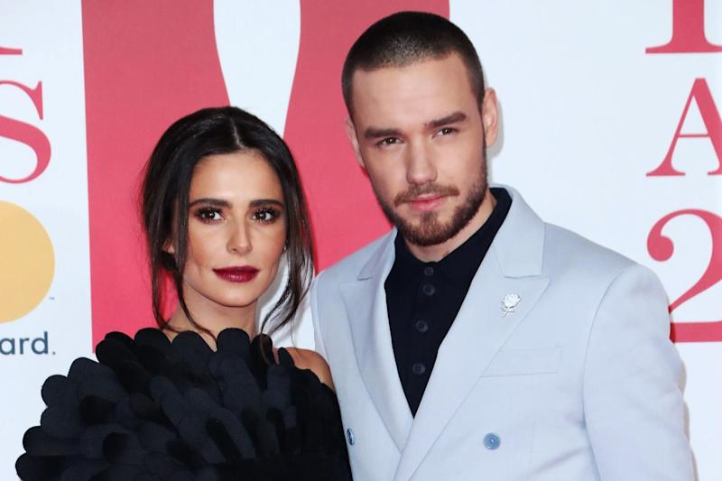 United front: Cheryl and Liam Payne at the BRIT Awards: Rex Features