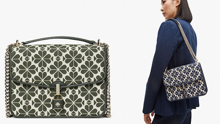 The print of this bag is eye-catching yet elegant.