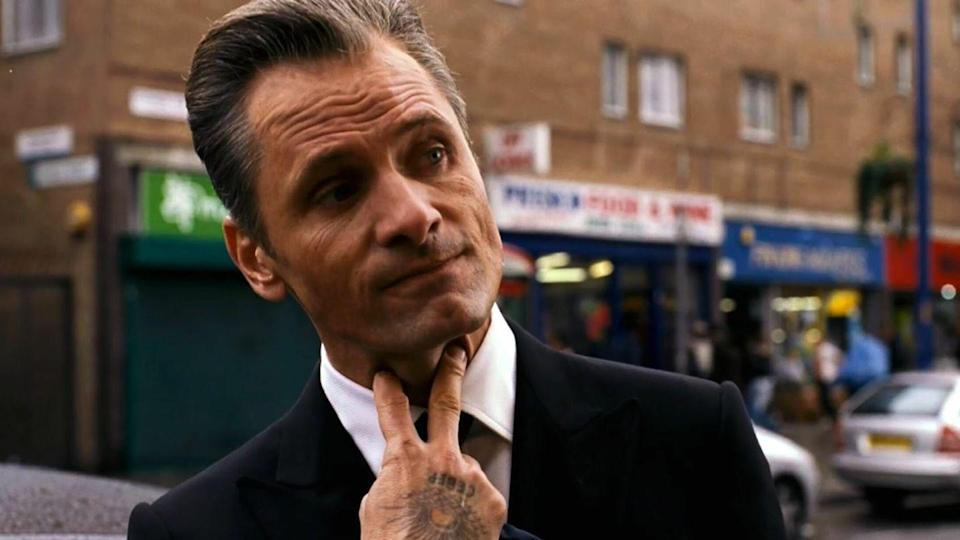 """<p>Viggo Mortensen's character in David Cronenberg's 2007 thriller is a classic """"cleaner"""" type. He drives his boss around. He makes some coffee. He dumps some bodies. But when he gets a little too deep into some bad stuff, he's confronted by some fellow baddies at a bathhouse. No matter. He dispatches them with hooks while totally nude.</p>"""