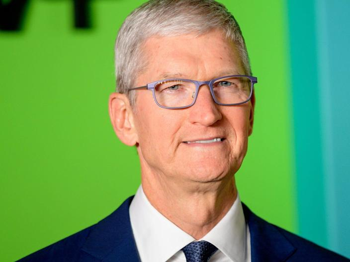 Tim Cook   Photo by Roy Rochlin:WireImage