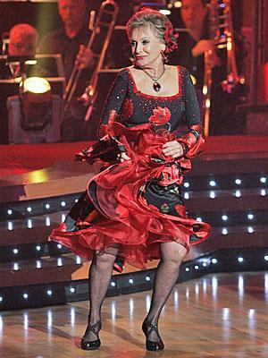 "<p>In 2008, Leachman was introduced to a new audience when she appeared on <em>Dancing with the Stars, </em>becoming the oldest competitor to do so at 82.</p> <p>""It's so wonderful. I'm going to be so sorry when it ends,"" she told PEOPLE. She made it to seventh place.</p>"