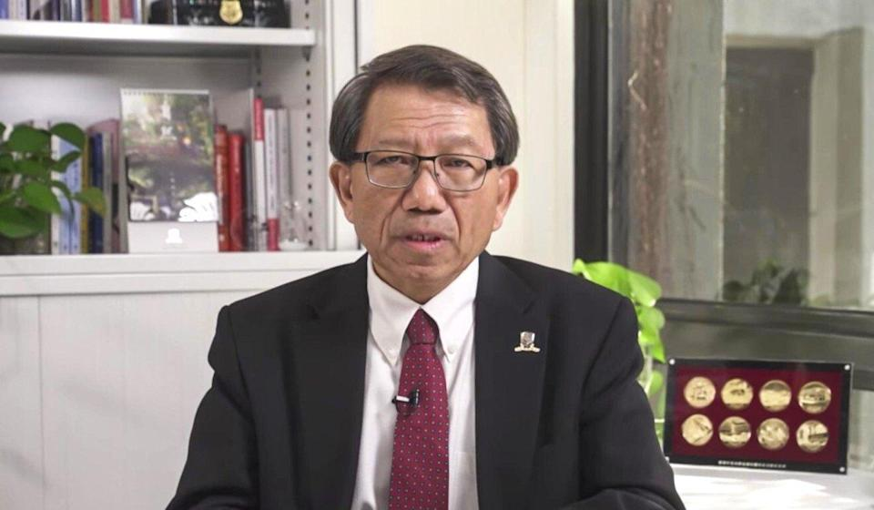 Five former student union leaders launched an online petition condemning CUHK's actions and urged university president Rocky Tuan Sung-chi (shown) to withdraw them immediately. Photo: Handout