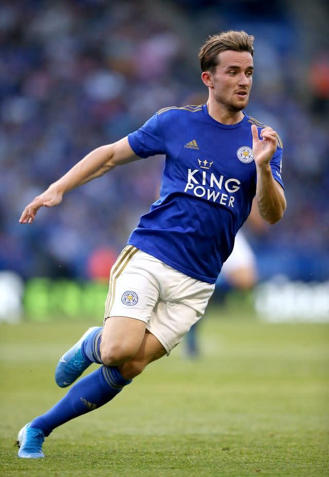 Leicester's Ben Chilwell is subject of transfer speculation (Nigel French/PA)