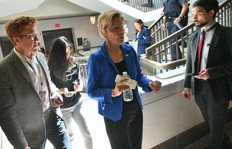 US Senator Elizabeth Warren is one of several Democratic 2020 presidential hopefuls calling for the launch of impeachment proceedings against President Donald Trump