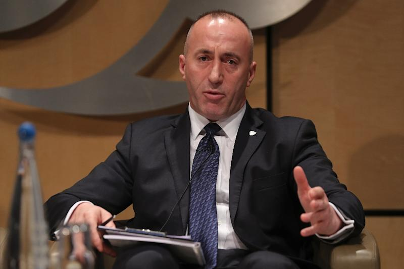 "Kosovo's Prime Minister Ramush Haradinaj insisted the massive 100 percent tariff would remain ""until Serbia recognises Kosovo as an independent and sovereign state"""