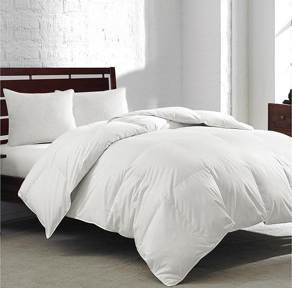 White Goose Feather & Down 240-Thread Count Comforter (Photo: Macy's)