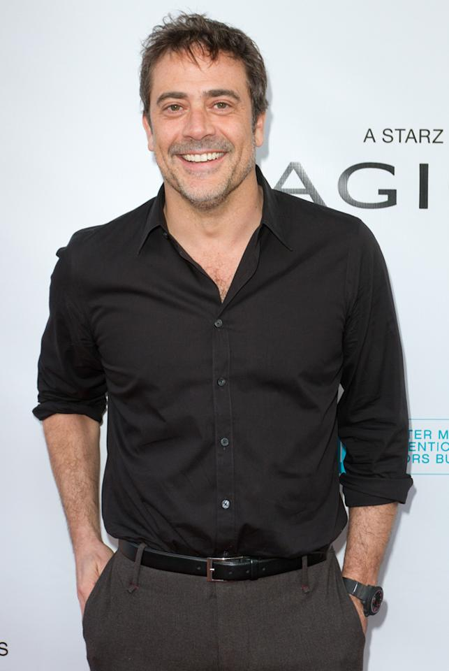 "Jeffrey Dean Morgan attends the ""<a target=""_blank"" href=""http://tv.yahoo.com/magic-city/show/46996"">Magic City</a>"" premiere at Colony Theater on March 4, 2012 in Miami Beach, Florida."