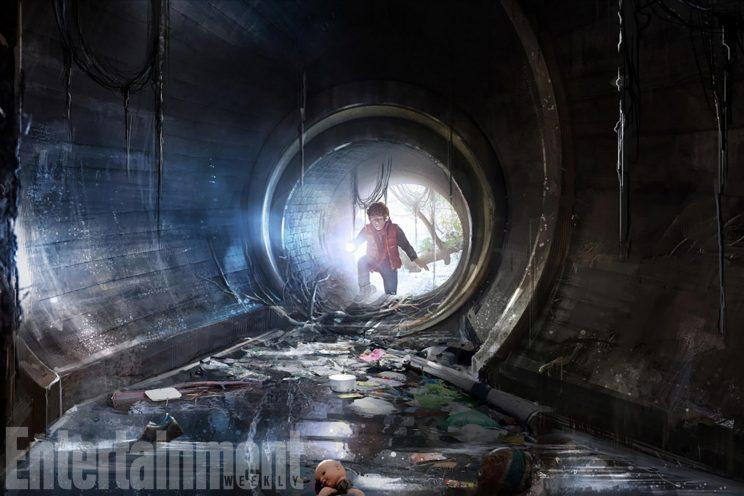 Bill tracks It through the sewers - Credit: Warner Bros.