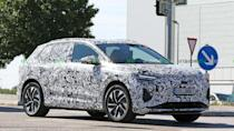 """<p>The Audi Q4 E-Tron is the Four Rings' upcoming electric crossover that is supposed to be a premium alternative to Volkswagen ID.4. Look for a debut later this year.</p> <h3><a href=""""https://www.motor1.com/news/431885/audi-q4-e-tron-spy-shots/"""" rel=""""nofollow noopener"""" target=""""_blank"""" data-ylk=""""slk:2021 Audi Q4 E-Tron Spied For The First Time With Production Body"""" class=""""link rapid-noclick-resp"""">2021 Audi Q4 E-Tron Spied For The First Time With Production Body</a></h3> <br><a href=""""https://www.motor1.com/news/366870/audi-q4-e-tron-headlights/"""" rel=""""nofollow noopener"""" target=""""_blank"""" data-ylk=""""slk:Audi Q4 E-Tron To Offer 25 Ways To Customize Headlights, Taillights"""" class=""""link rapid-noclick-resp"""">Audi Q4 E-Tron To Offer 25 Ways To Customize Headlights, Taillights</a><br><a href=""""https://www.motor1.com/news/409646/audi-q4-e-tron-spied/"""" rel=""""nofollow noopener"""" target=""""_blank"""" data-ylk=""""slk:Audi Q4 E-Tron Spied Looking Like Its VW Sibling"""" class=""""link rapid-noclick-resp"""">Audi Q4 E-Tron Spied Looking Like Its VW Sibling</a><br>"""
