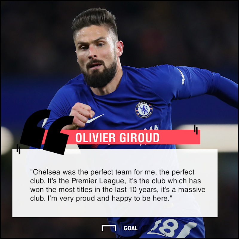 Giroud Has Found His Perfect Club After Trading Arsenal For Chelsea