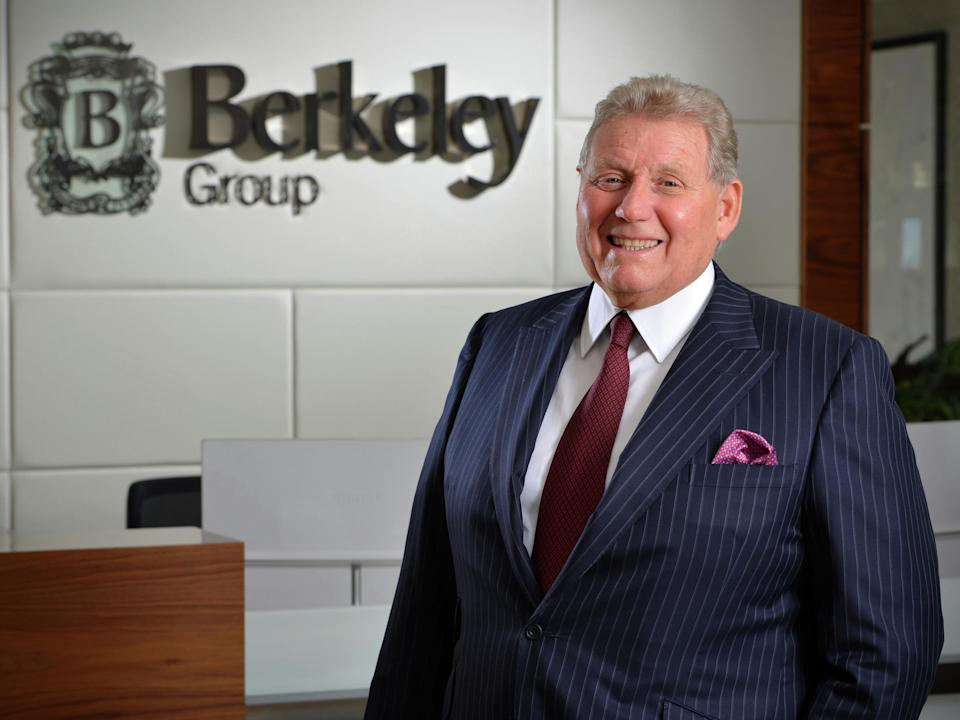 <p>The late Tony Pidgley never forgot his humble roots</p> (PA)