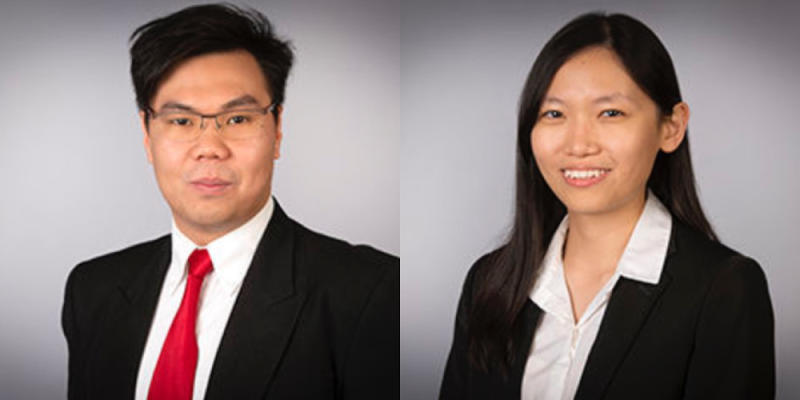 Andrew Ng Kay Lup (left) and Lai Yee Qing were among 25 researchers who were honoured under the Green Talents Competition 2019 for their contributions to sustainable development. — Picture from Green Talents website