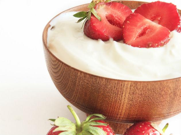 "<b>Yogurt </b><br>Dietitians often refer to plain yogurt as the perfect food, and for good reason: With its trifecta of carbs, protein and fat, it can stave off hunger by keeping blood sugar levels steady. <br><b>Eat more</b> ""Use lowfat plain yogurt instead of mayonnaise in chicken or potato salad, or top a baked potato with a bit of yogurt and a squeeze of lemon juice,"" Krieger says. You'll save 4.7 grams of fat per tablespoon. Look for Greek yogurt, which has more protein than other versions."