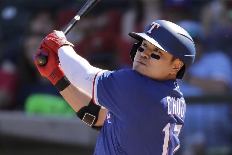 Coronavirus: Texas' Choo giving $1,000 to all 191 Rangers minor leaguers