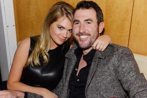 Kate Upton (left) and Justin Verlander