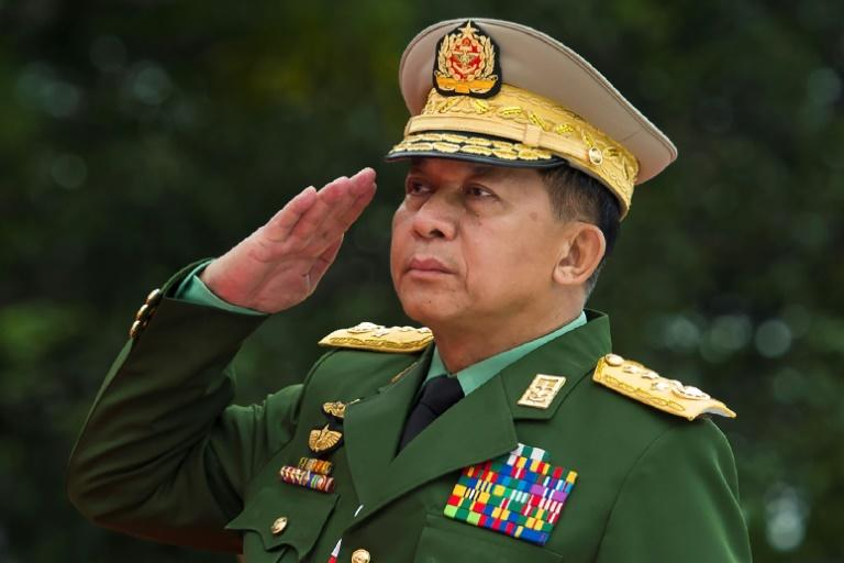 A shorter version of the UN report, published last month, had already called for Myanmar's army chief Min Aung Hlaing (pictured) and five other top military commanders to be prosecuted in an international court for genocide