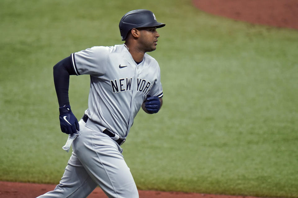 New York Yankees' Aaron Hicks