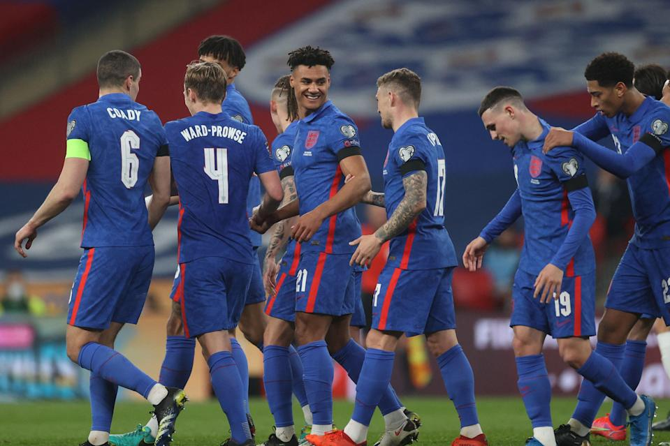 <p>England eased past San Marino at Wembley</p> (POOL/AFP via Getty Images)