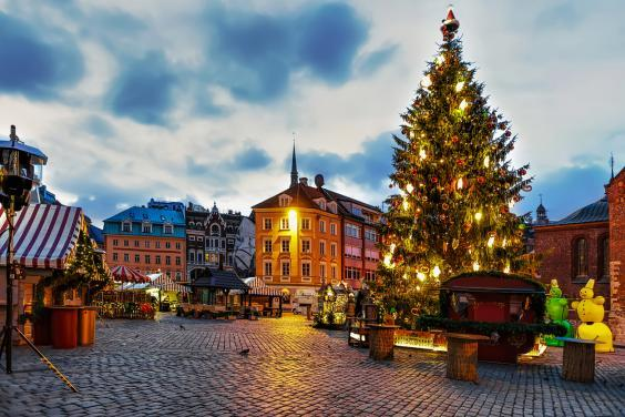 Riga claims to have had the first ever Christmas tree (Getty/iStock)