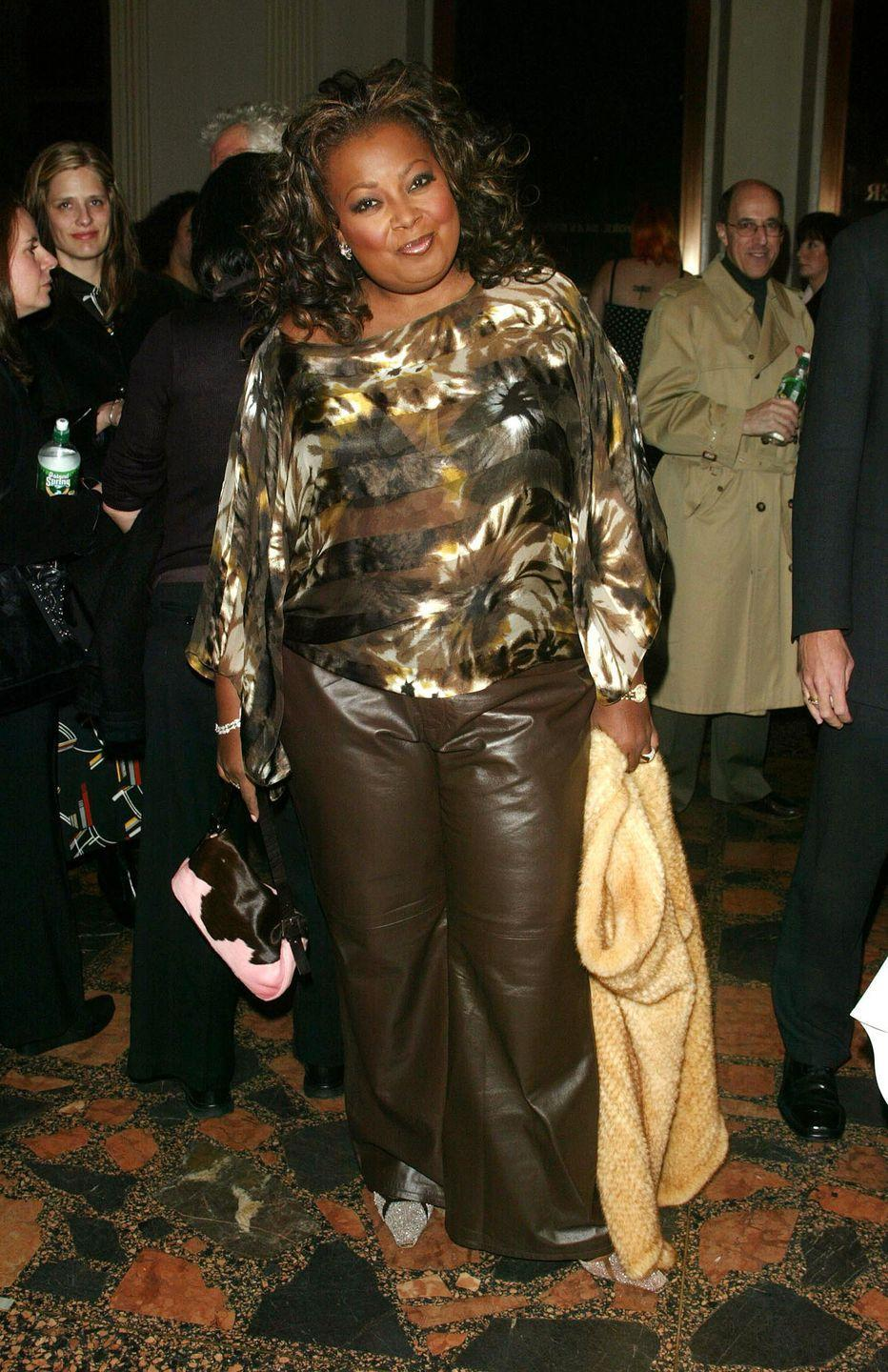 """<p>The former co-host of <em>The View</em> was <a href=""""https://www.today.com/health/star-jones-her-weight-loss-i-wasnt-plus-size-i-1C9381962"""" rel=""""nofollow noopener"""" target=""""_blank"""" data-ylk=""""slk:diagnosed as &quot;morbidly obese&quot;"""" class=""""link rapid-noclick-resp"""">diagnosed as """"morbidly obese""""</a> when she reached 307 pounds in 2003. Shortly afterwards, she made the decision to undergo gastric bypass surgery.</p>"""