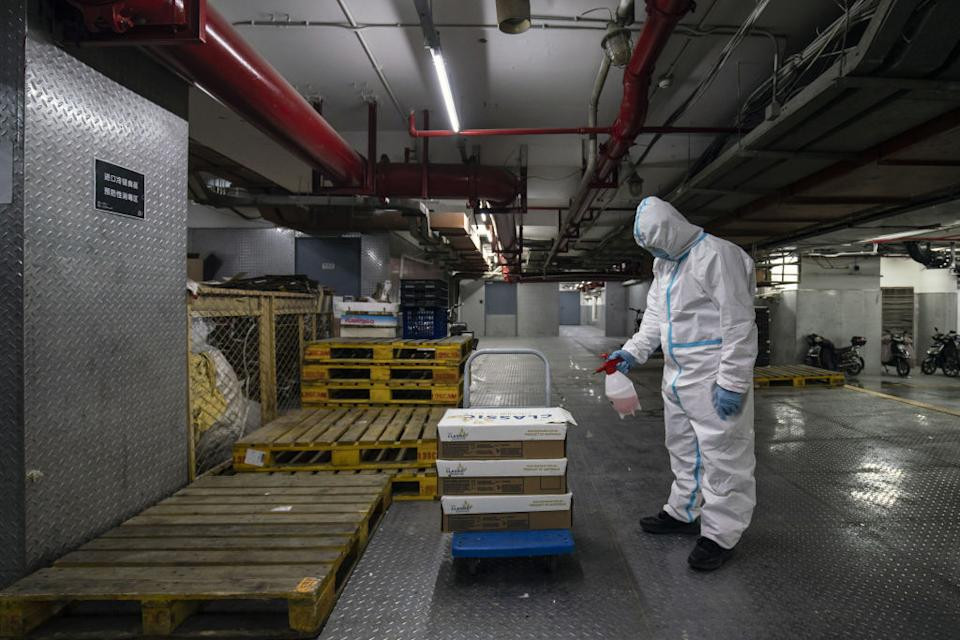While cold chain transmission is among the theories of how the virus arrived in Wuhan,