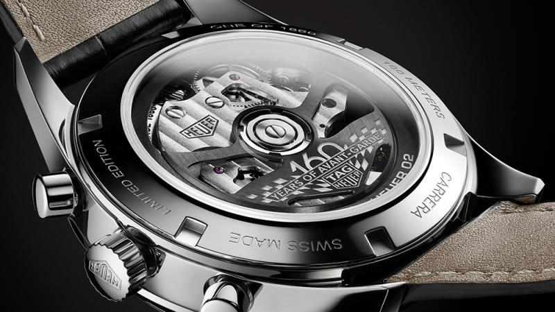 The TAG Heuer Carrera 160 Years Silver Limited Edition
