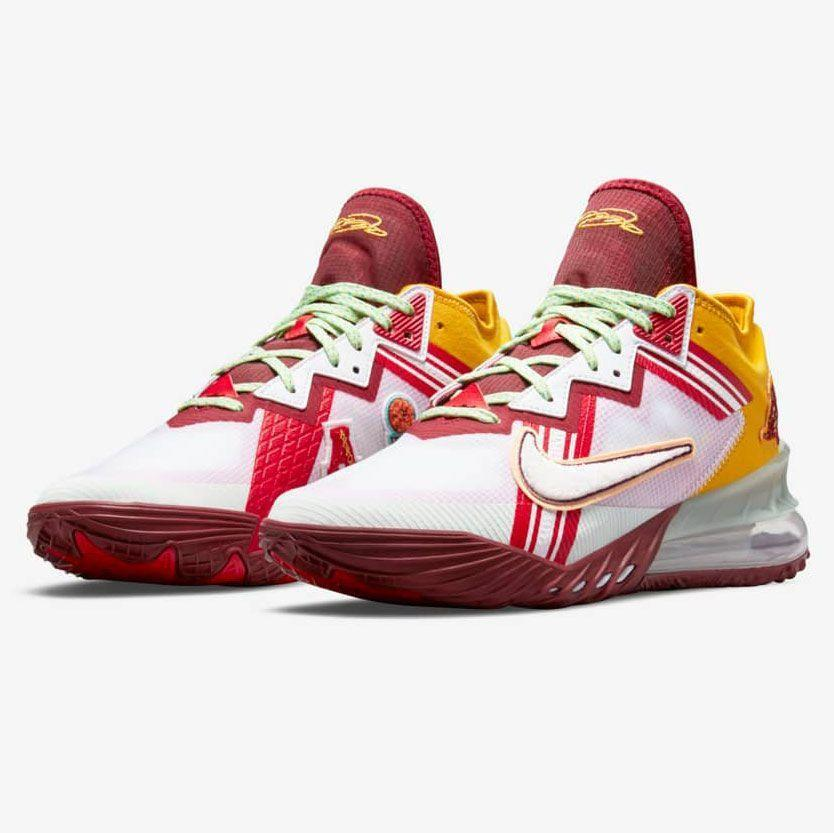 """<p><strong>Nike</strong></p><p>nike.com</p><p><strong>$170.00</strong></p><p><a href=""""https://go.redirectingat.com?id=74968X1596630&url=https%3A%2F%2Fwww.nike.com%2Flaunch%2Ft%2Flebron-18-low-mimi-plange-higher-learning&sref=https%3A%2F%2Fwww.esquire.com%2Fstyle%2Fmens-fashion%2Fg36561704%2Fbest-new-menswear-may-28-2021%2F"""" rel=""""nofollow noopener"""" target=""""_blank"""" data-ylk=""""slk:Shop Now"""" class=""""link rapid-noclick-resp"""">Shop Now</a></p><p>Ghanaian-born designer Mimi Plange brings her eye to a pair of LeBron 18 lows, dropping on June 2. It's been a while since I was excited about a basketball shoe, but here I am once more, excited about a basketball shoe.</p>"""