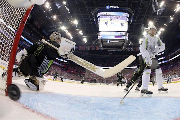 The 2014 NHL all-star game didn't fare as well in the ratings as expected. (AP Photo/Bruce Bennett)